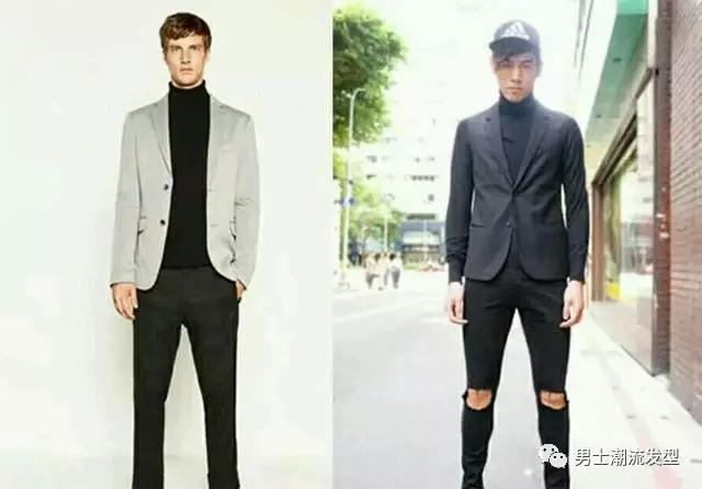 型男几种冬季服装搭配技巧